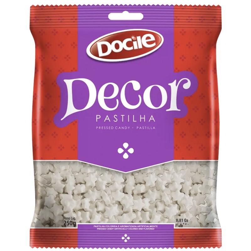 Decor Pastilha • Estrela Branca - 250g • Docile