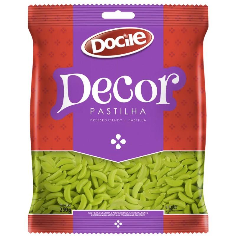 Decor Pastilha • Meia Lua Verde - 250g • Docile