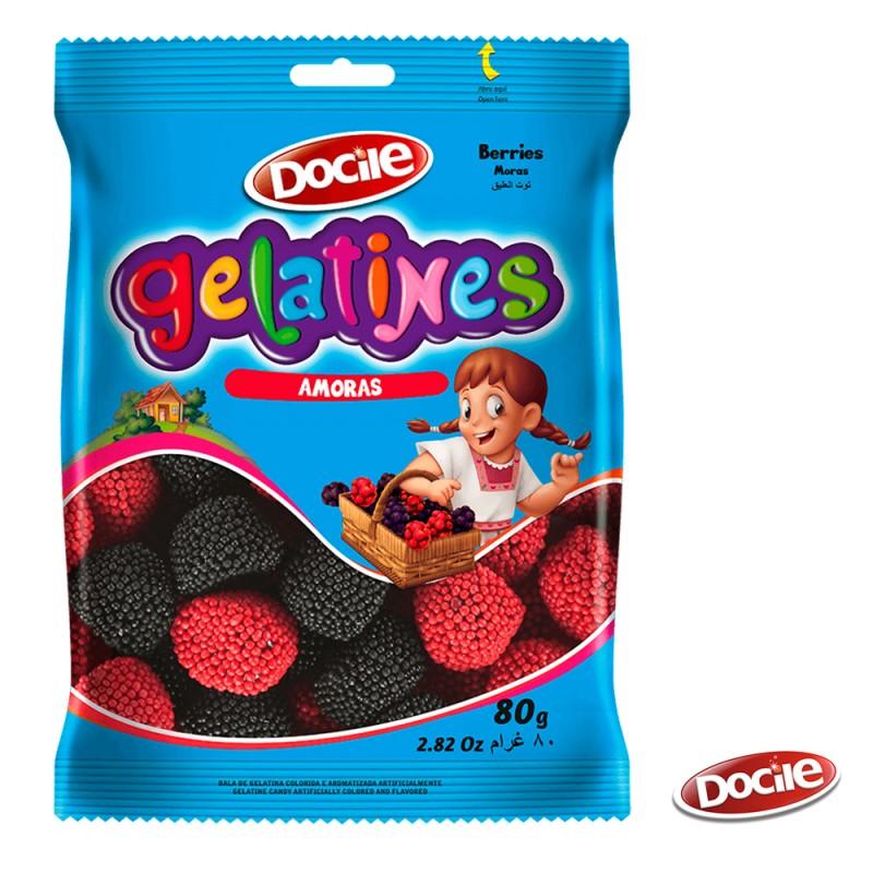 Gelatines Amoras 80g • Docile