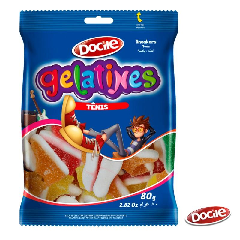 Gelatines Tênis 80g • Docile