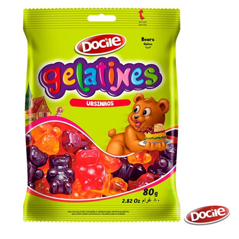 Gelatines Ursinhos 80g • Docile