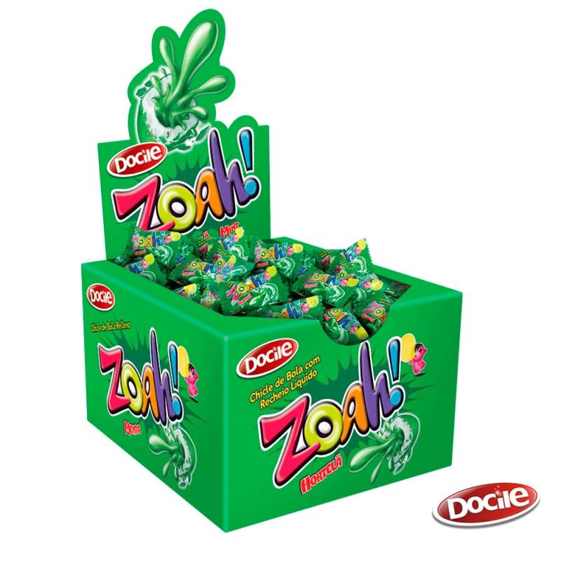 Zoah! Chicle •  Caixa c/ 40un. •DOCILE