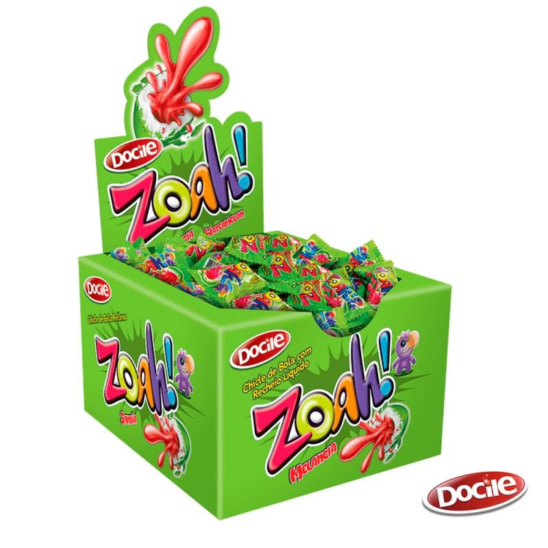 Zoah! Chicle Melancia • Caixa c/ 40un. • DOCILE