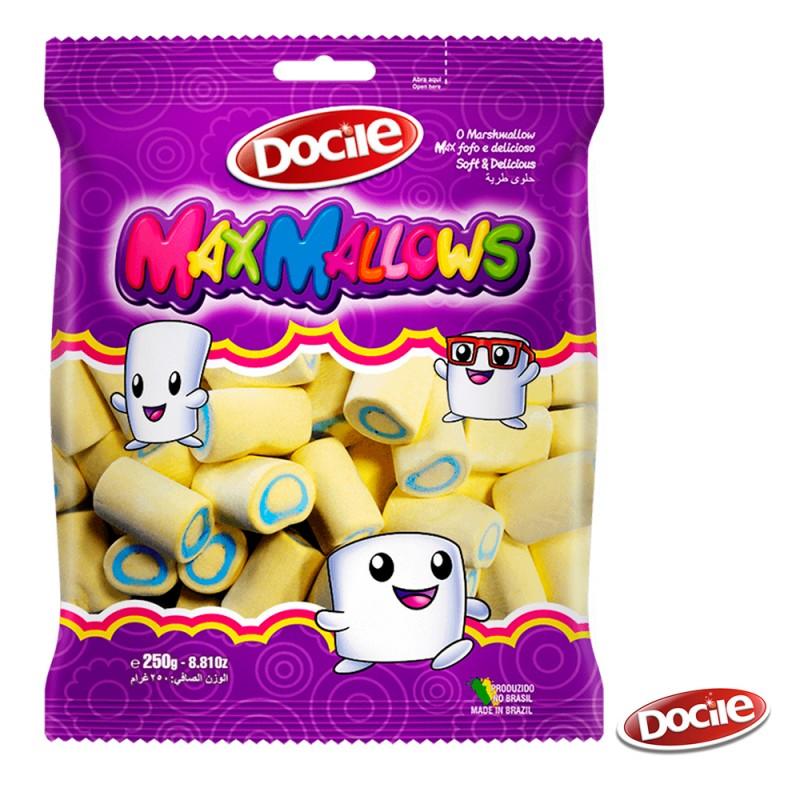 MaxMallows Tubo Amarelo • 250g • DOCILE