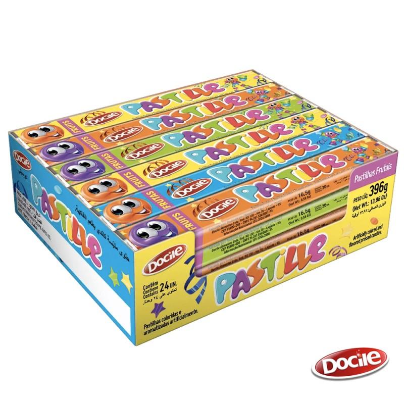 Pastille • Frutas  - Caixa 396g • 24un • Docile