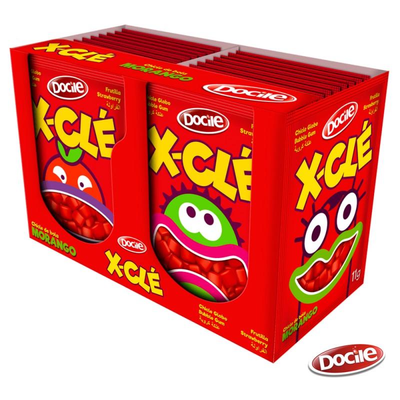X-Clé • Mini Chiclé  • Caixa 264g • Docile
