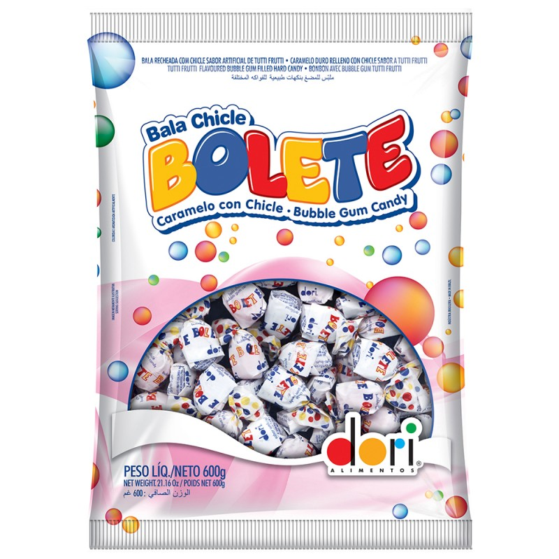 Bala Chiclé Bolete 600g • Dori