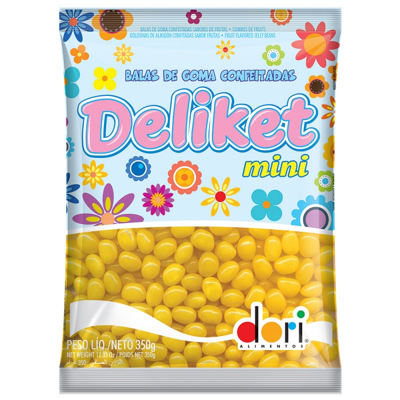 Delikets Mini •Diversas Cores •350g • Dori