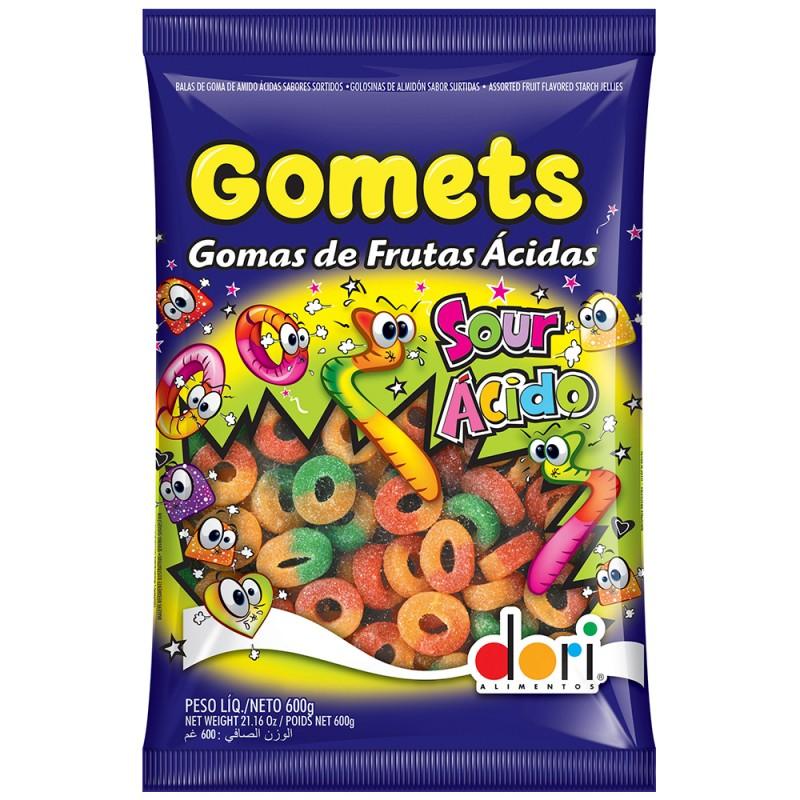 Gomets Anéis de Frutas Ácidas 600g • Dori