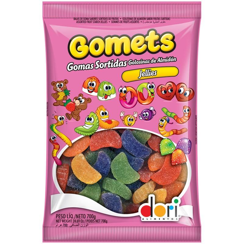 Gomets Gomos de Frutas 700g • Dori