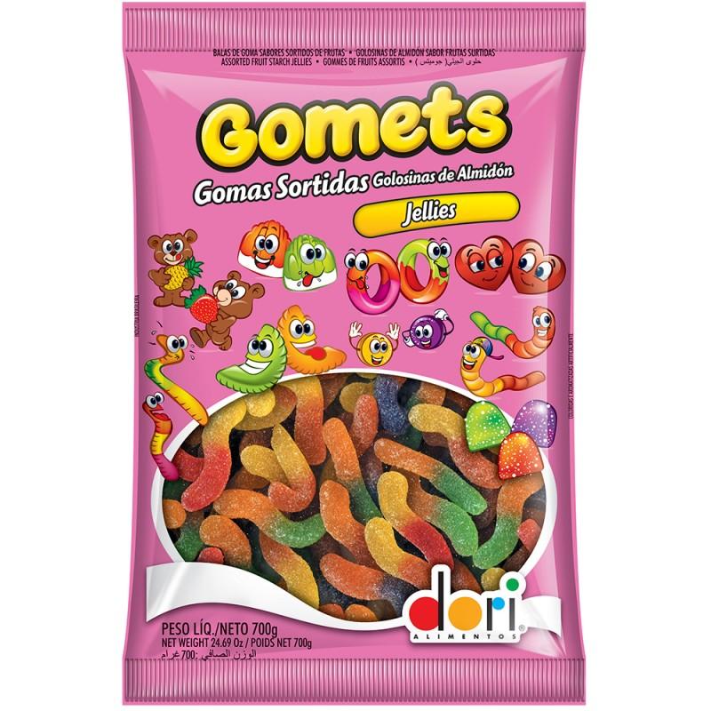 Gomets Minhocas de Frutas 700g • Dori