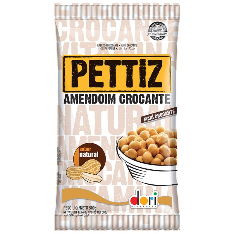 Pettiz • Amendoim Crocante • 500g • Dori