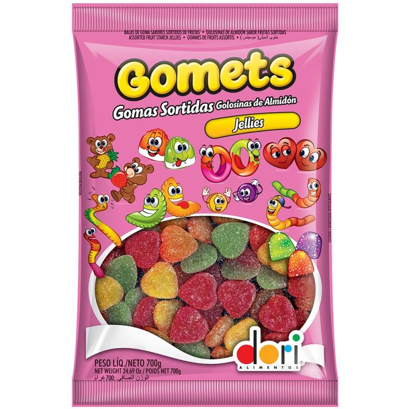 Gomets Coração de Frutas 700g • Dori