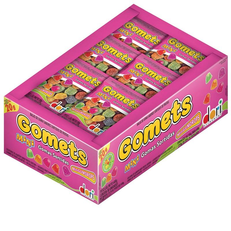Gomets Mini Gomas Sortidas 30x20g • Dori
