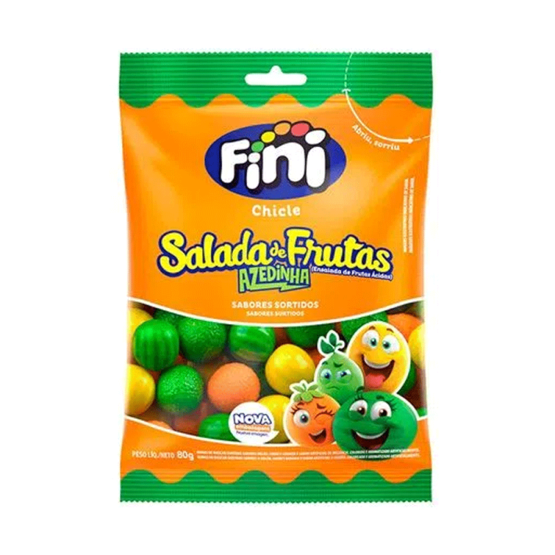 Chicle Salada de Frutas 80g • Fini