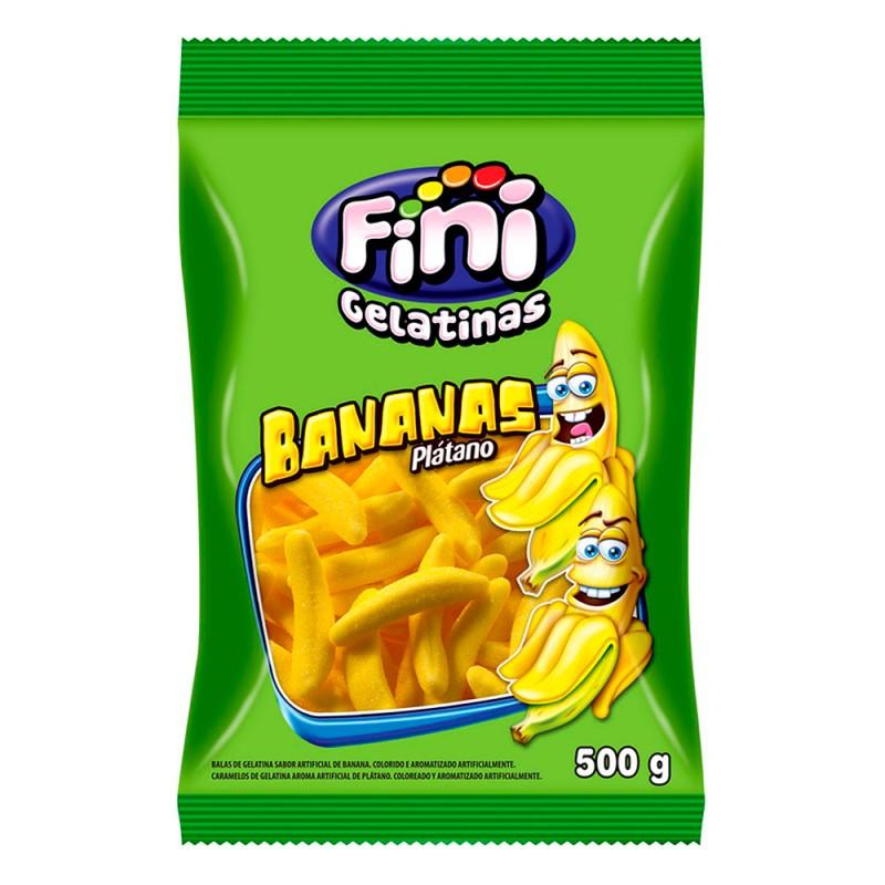 Bala Gelatina • Bananas 500g • Fini