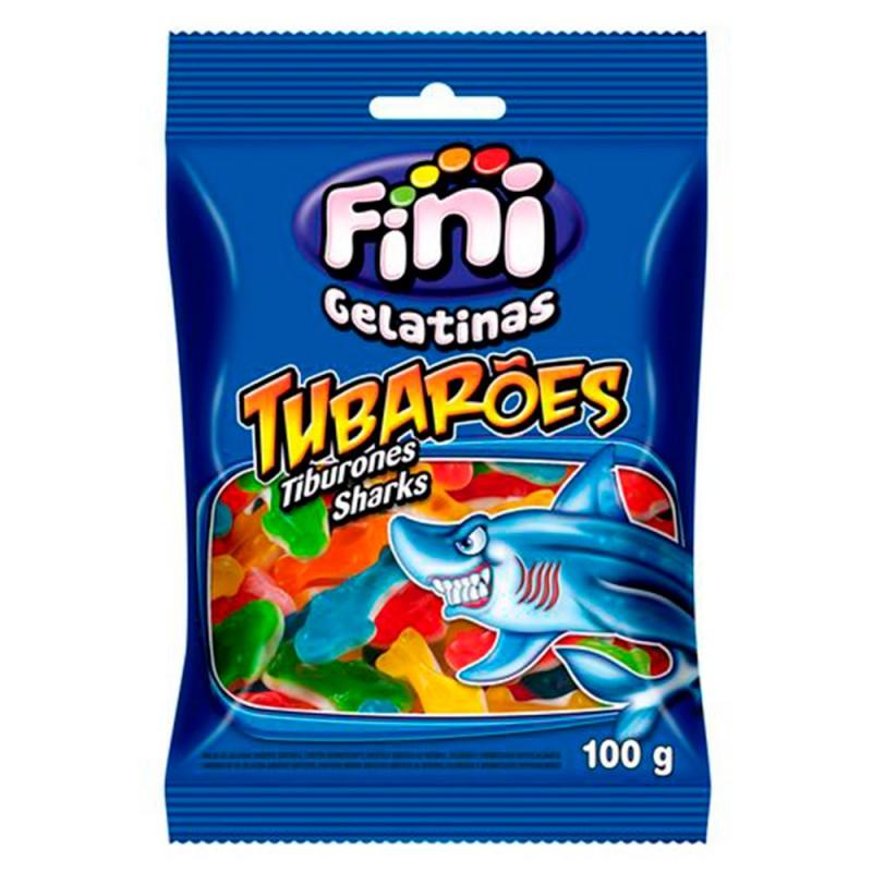 Bala Gelatina • Tubarões 100g • FINI