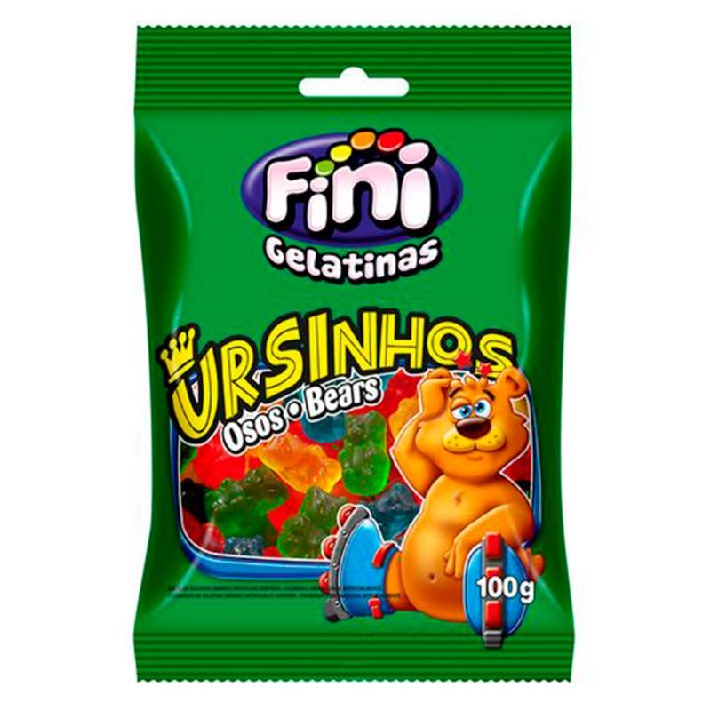 Bala Gelatina • Ursinhos 100g • Fini