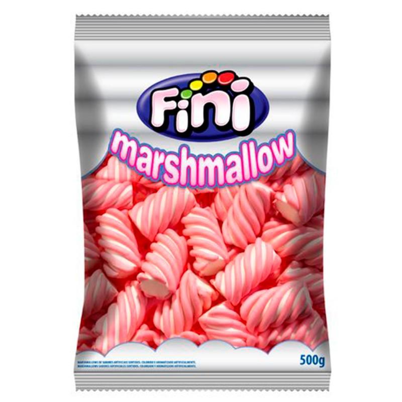 Marshmallows Listrado Morango • 500g• FINI