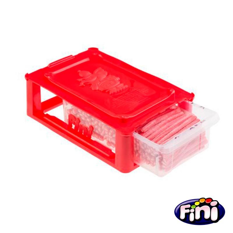 Tubes Morango Cítrico Finibox - Caixa 1kg • Fini