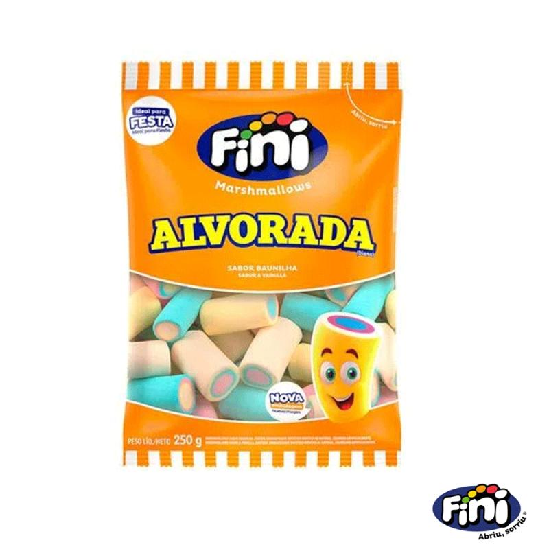 Marshmallows Alvorada Sabor Baunilha • 250g • Fini