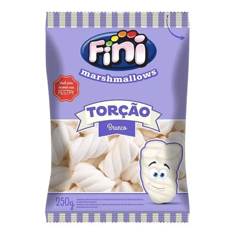 Marshmallows Torção Branco 250g • Fini