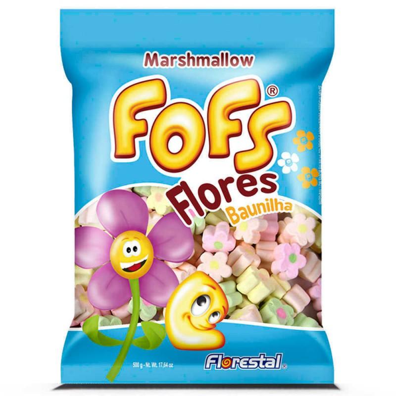 Marshmallow Fofs • Flores Baunilha 500g • Florestal