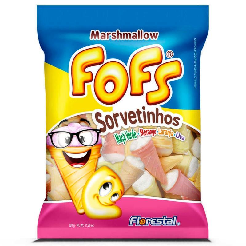 Marshmallow Fofs Sorvetinhos • 160g • Florestal