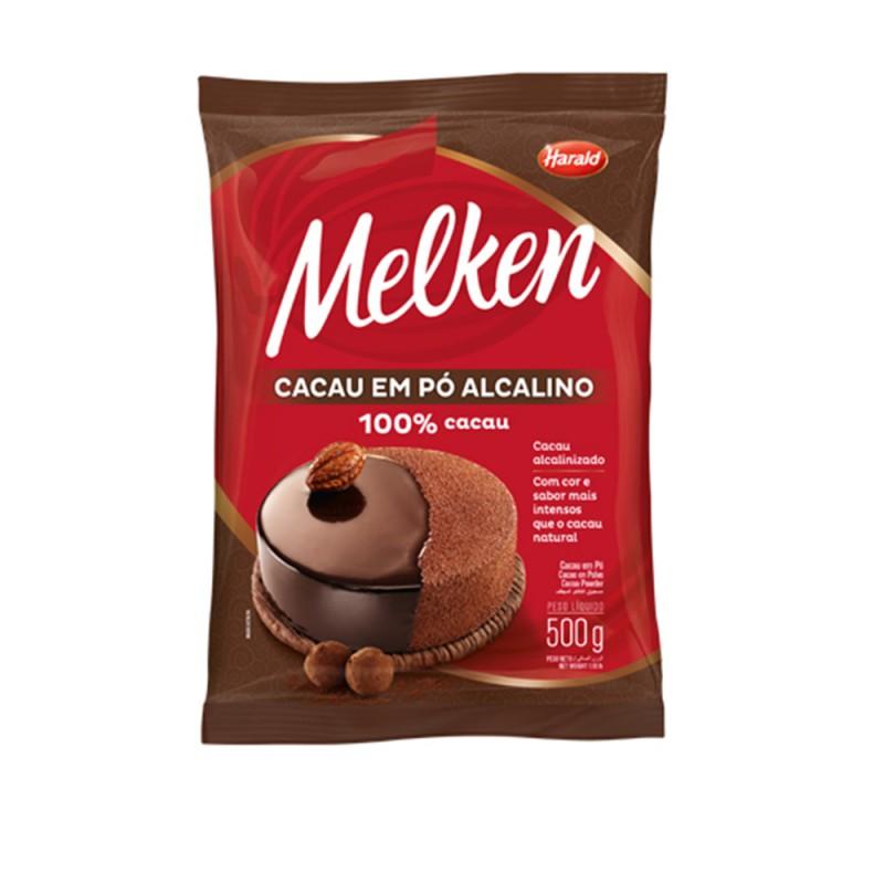 Melken • Cacau em Pó • 100% Cacau – 500g