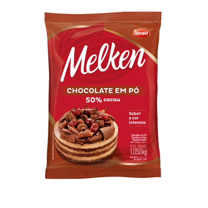 Melken • Chocolate em Pó • 50% Cacau – 1kg