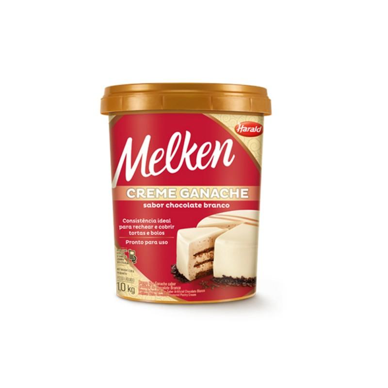 Melken • Ganache Branco Pronto • 1kg