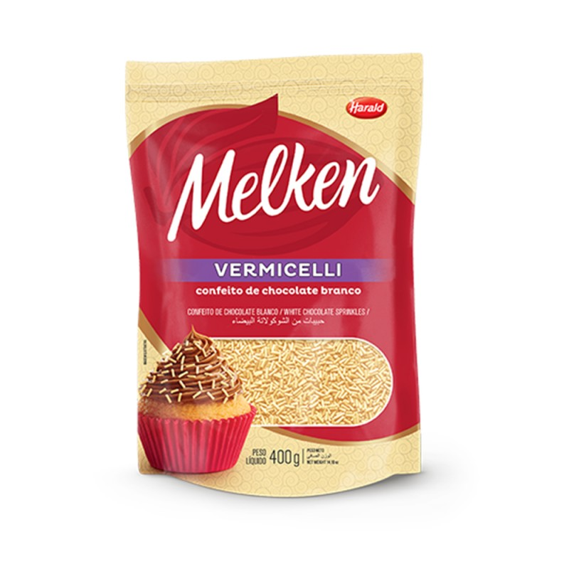 Melken • Vermicelli • Branco•400g