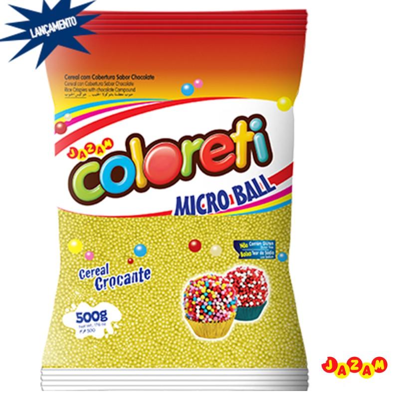 Cloreti • Micro Ball • Diversas Cores • 500g