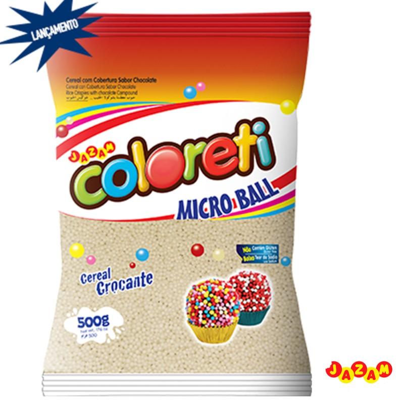 Cloreti • Micro Ball • Branca • 500g