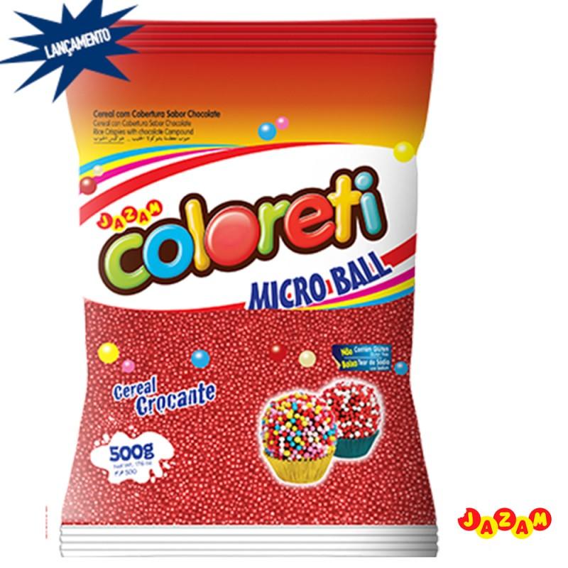 Cloreti • Micro Ball • Vermelho • 500g