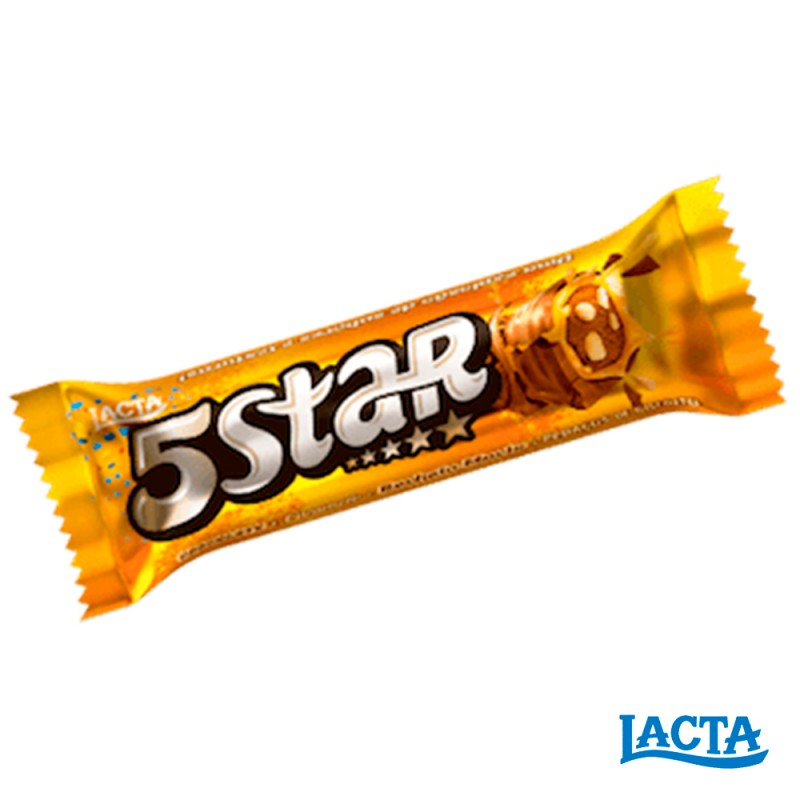 Chocolate • 5Star • Caixa 720g Lacta