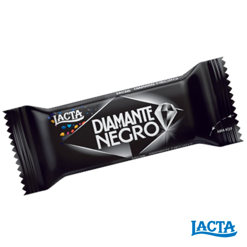 Chocolate • Diamante Negro • Caixa 400g Lacta