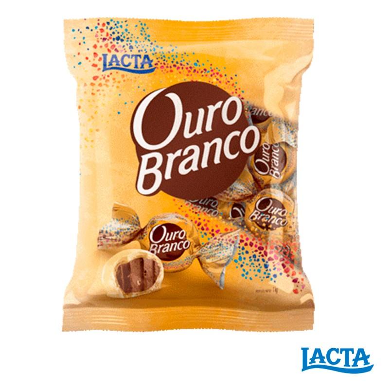 Bombom •Ouro Branco • Pacote 1kgLacta