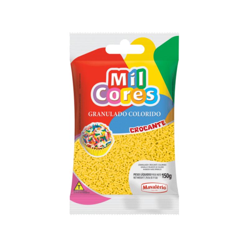 Granulado Crocante Amarelo • 150g • Mavalério