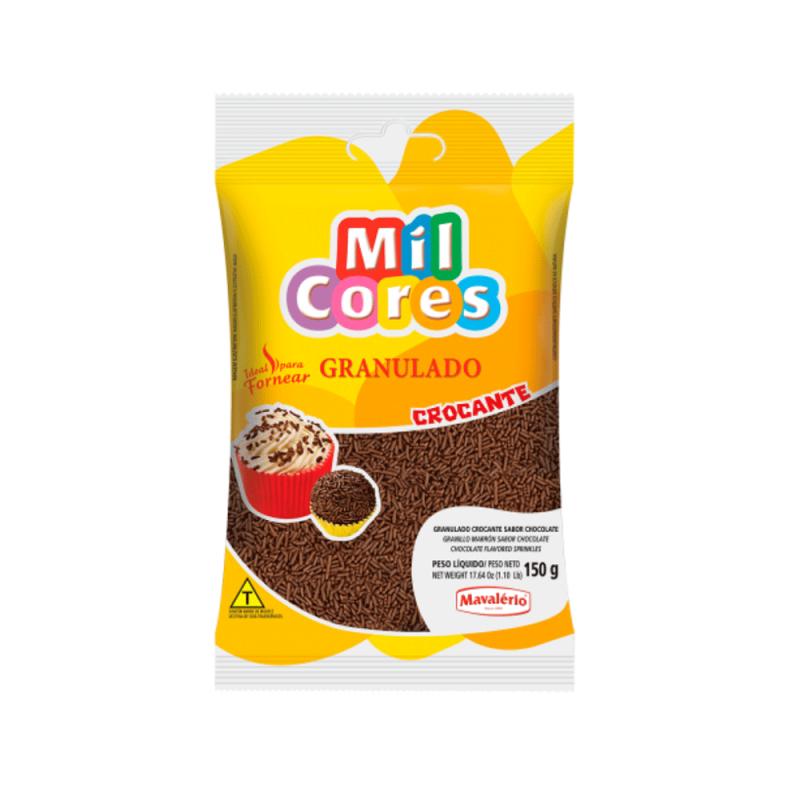 Granulado Crocante 150g Mil Cores