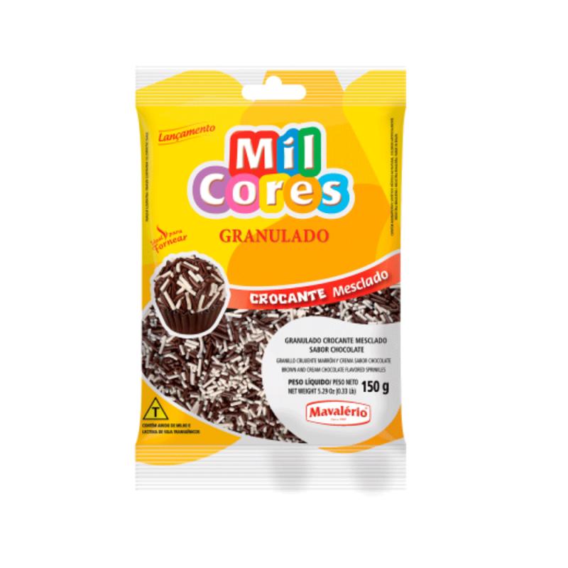 Granulado Crocante Mesclado 150g • Mil Cores