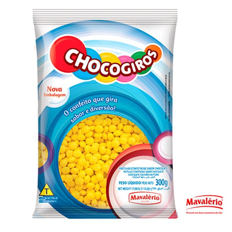 Chocogiros • Amarelo • 300g • Mavalério