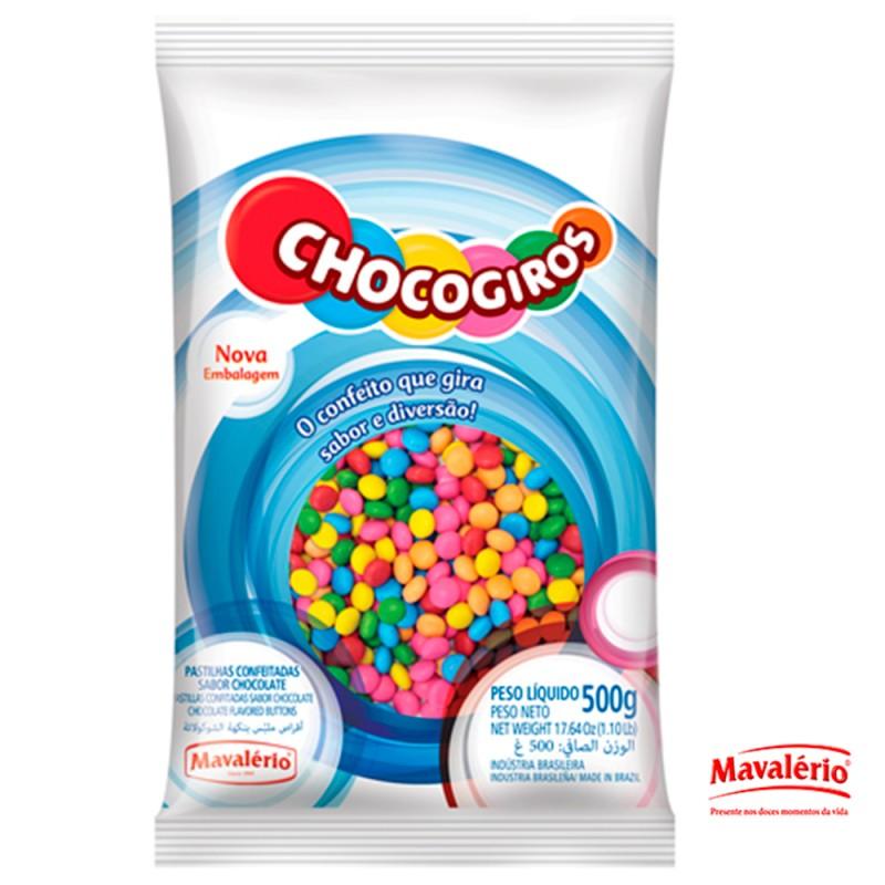 Chocogiros • Colorido • 500g • Mavalério