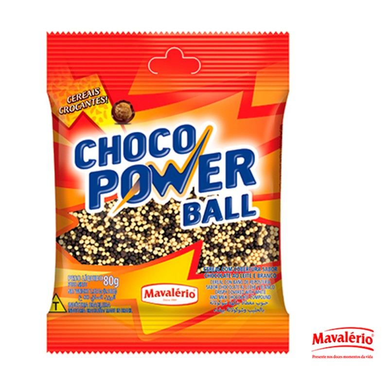 Choco Power Ball Micro • 80g • Mavalério