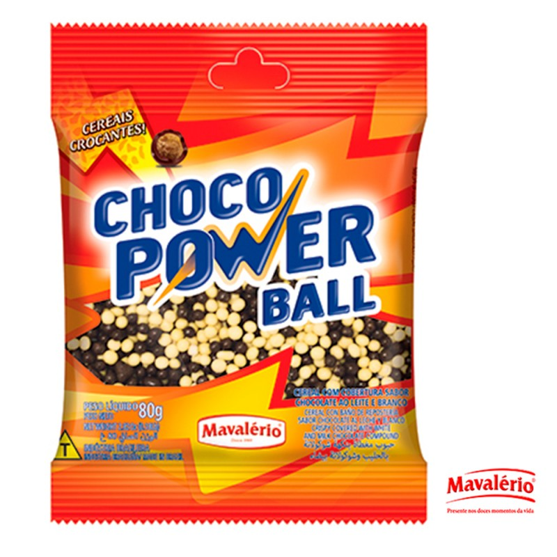 Choco Power Ball Mini • 80g • Mavalério