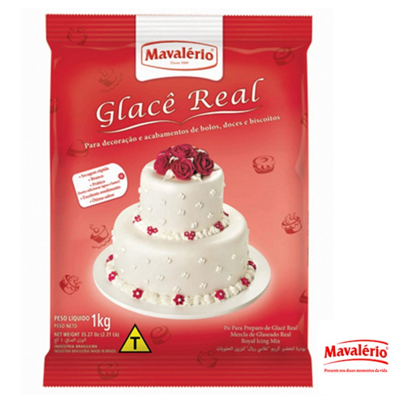 Glacê Real 1kg • Mavalério