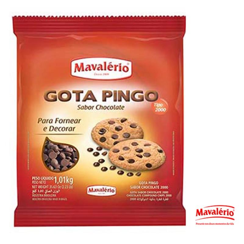 Gota Pingo Sabor Chocolate • 1kg • Mavalério