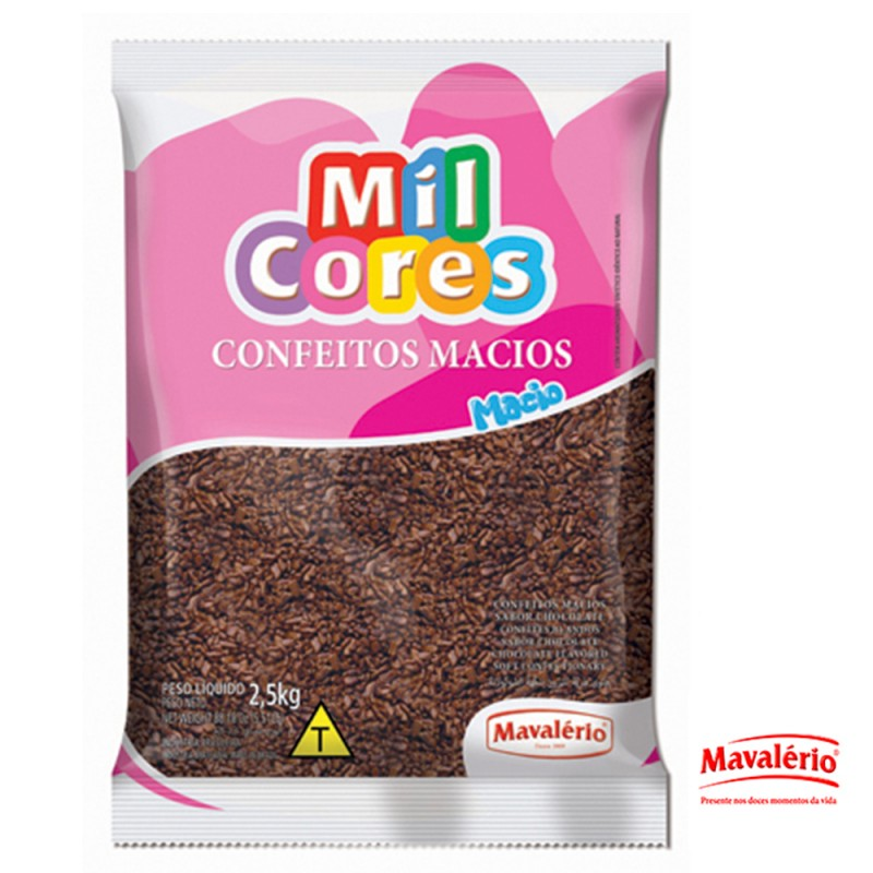 Flocos Sabor Chocolate - Macio 2,5kg • Mavalério