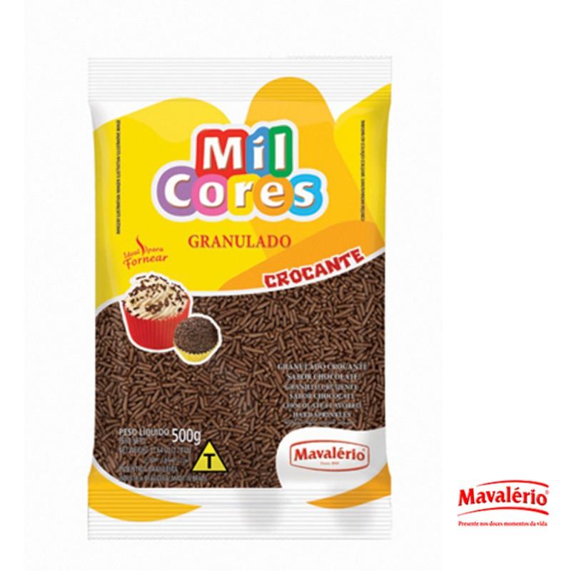 Granulado Crocante 500g Mil Cores