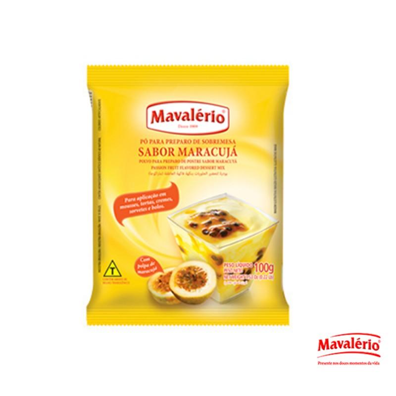 Pó p/ Sobremesa Sabor Maracujá - 100g